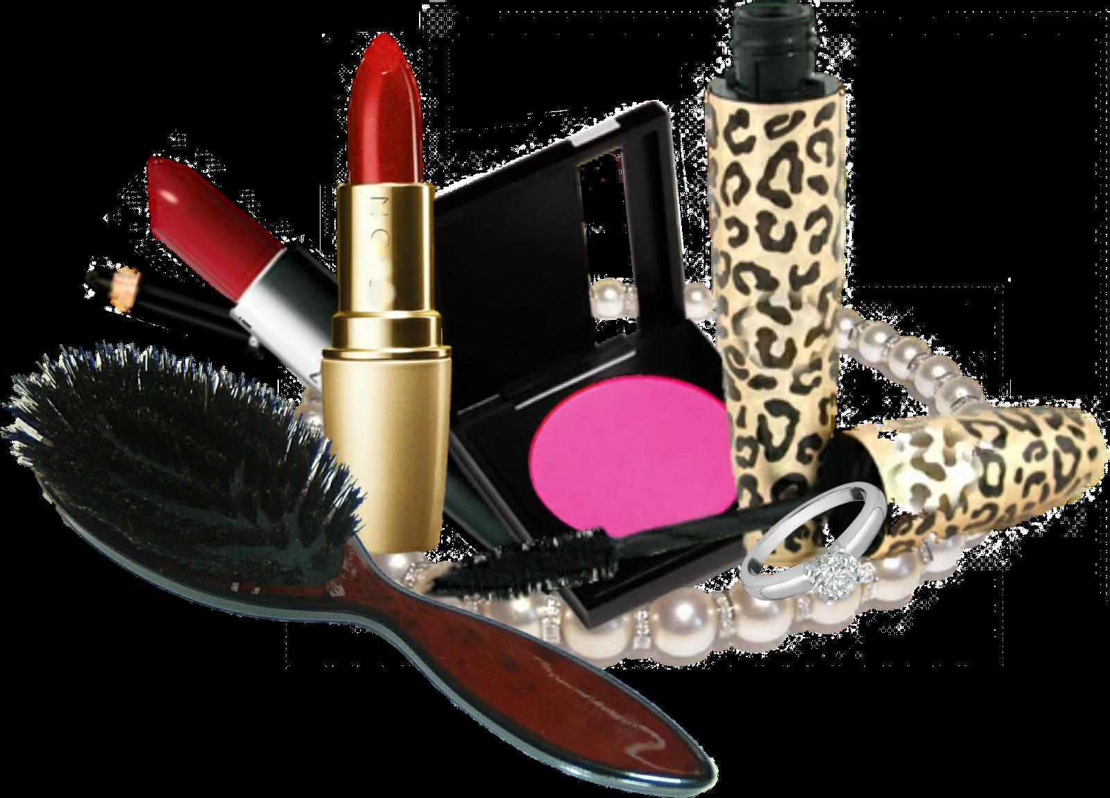 Makeup clipart transparent transparent library Makeup Kit Products PNG Transparent Images | PNG All transparent library