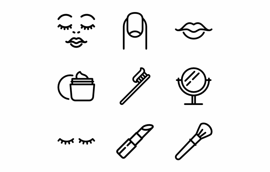 Makeup icon clipart png stock Beauty Salon - Beauty Makeup Icon Transparent Background ... png stock