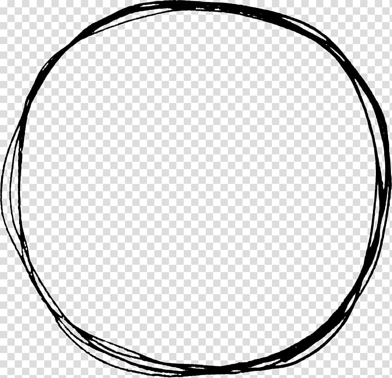 Making a circle clipart black and white clipart royalty free Circle Doodle Drawing , circle transparent background PNG ... clipart royalty free