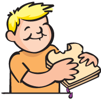 Making peanut butter sandwich clipart clip free How to Make a Peanut Butter & Jelly Sandwich • Beyond the ... clip free