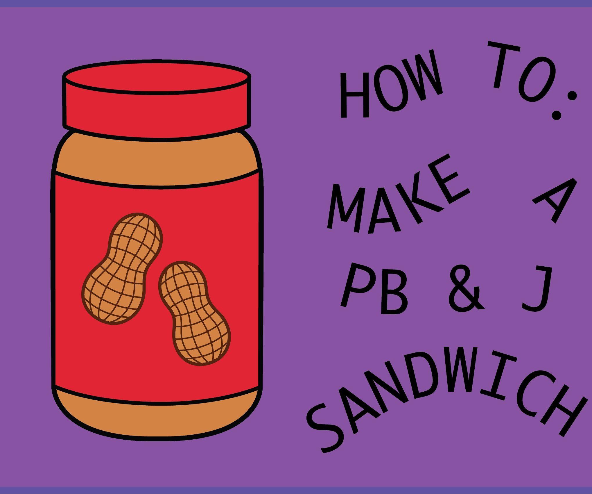 Making peanut butter sandwich clipart clip art How to Make a Peanut Butter and Jelly Sandwich!: 11 Steps clip art