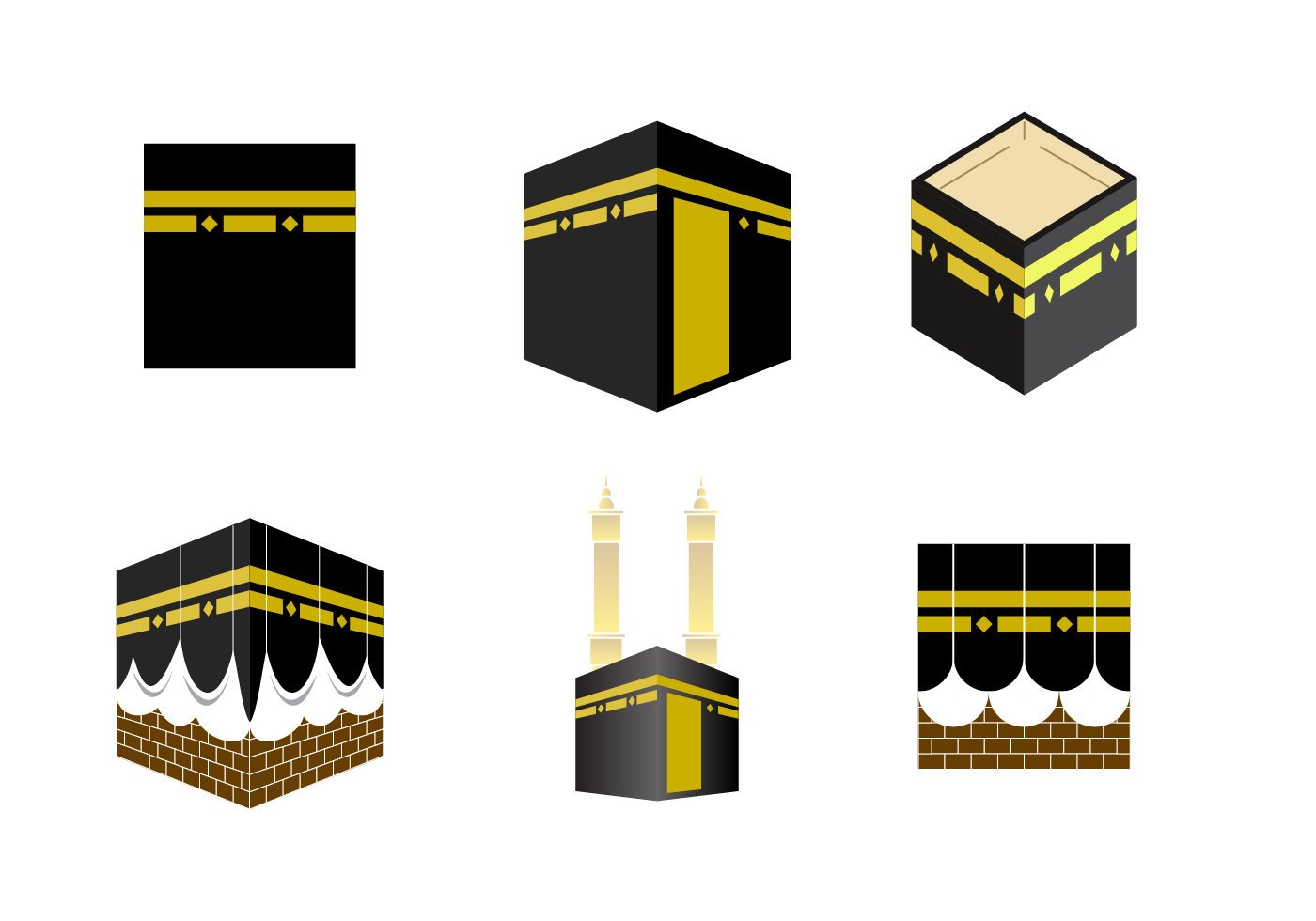 Makkah madina clipart vector download Makkah Free Vector Art - (3,765 Free Downloads) vector download