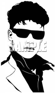 Male models clipart black and white clip art black and white stock A Black and White Silhouette of a Male Model Wearing a Suit and ... clip art black and white stock