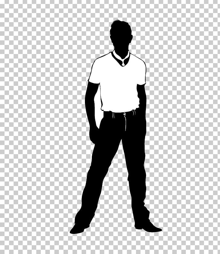 Male models clipart black and white banner black and white library Silhouette Computer File PNG, Clipart, Angle, Animals, Arm, Black ... banner black and white library