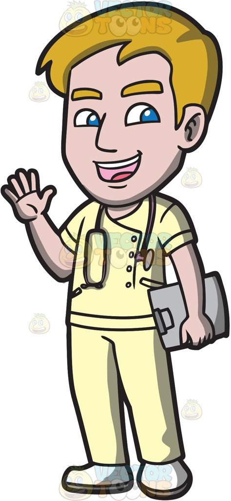 Male nurse pictures clipart graphic library stock Cartoon Nurses Images | Free download best Cartoon Nurses Images on ... graphic library stock