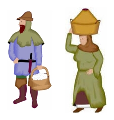 Male serf in the middle ages clipart image download The Middle Ages: A Comprehensive Overview of Europe, 500-1500 - History image download
