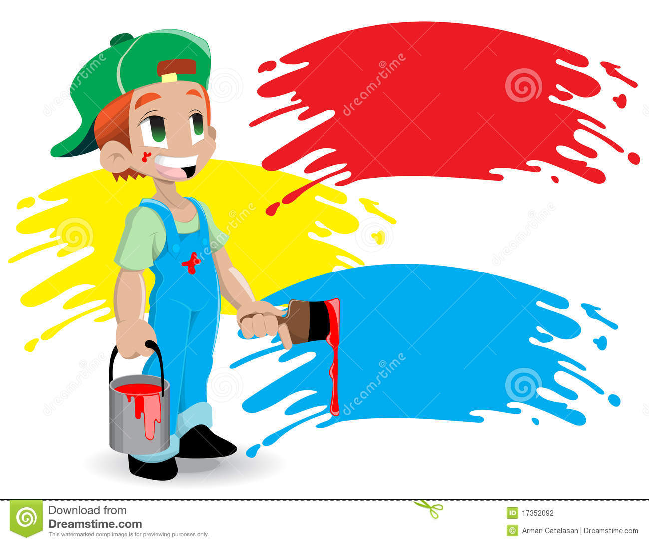 Maler und anstreicher clipart jpg free download Young Painter Stock Photography - Image: 17352092 jpg free download
