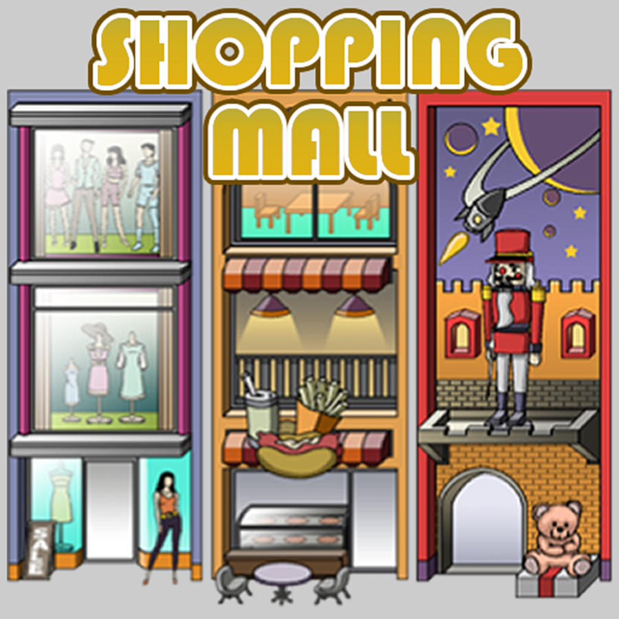 Shopping mall clipart svg black and white download Shopping mall clipart png 1 » Clipart Station svg black and white download
