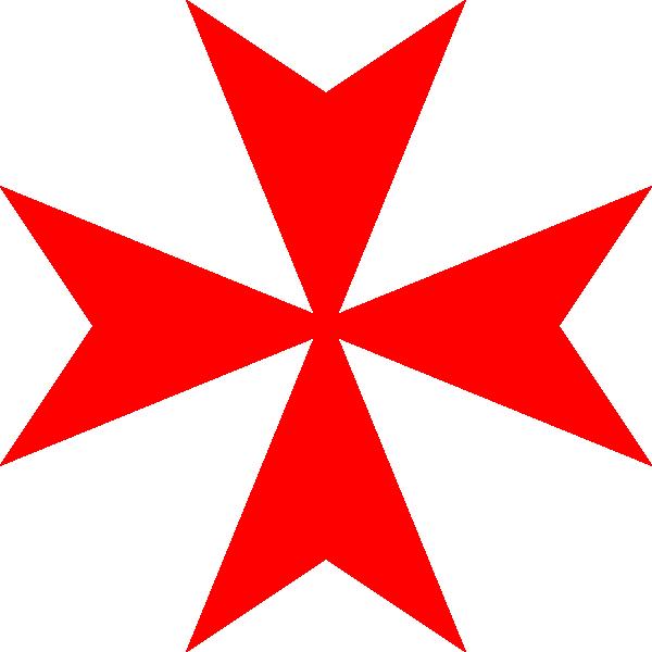 Maltese cross clipart image black and white download Malta Red Cross Clip Art at Clker.com - vector clip art online ... image black and white download