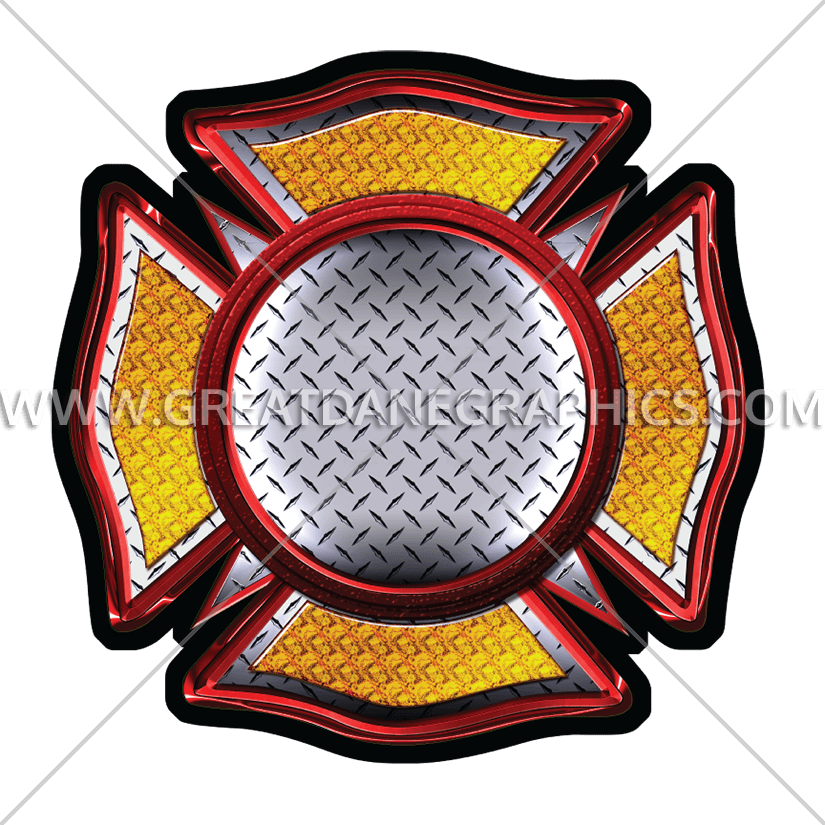 Maltese cross clipart free picture black and white Emergency Maltese Cross | Production Ready Artwork for T-Shirt Printing picture black and white