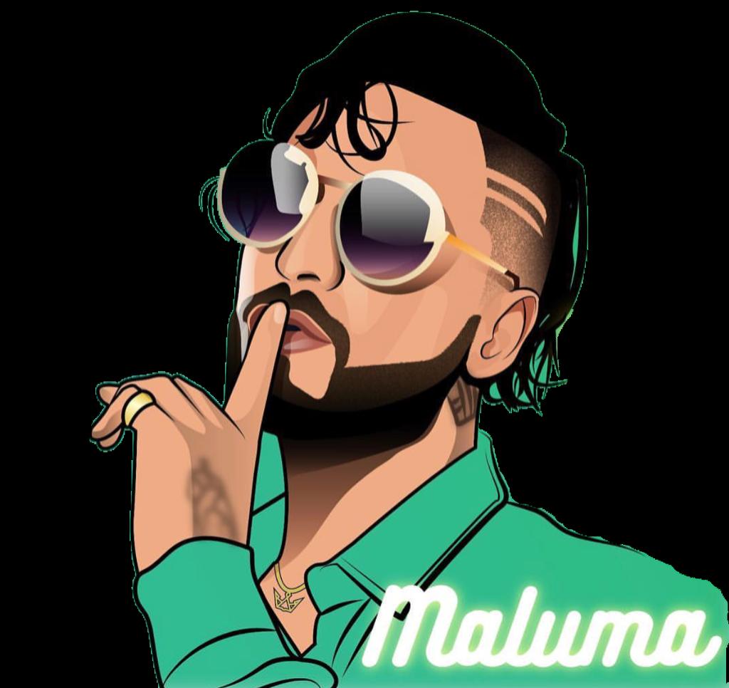 Maluma clipart jpg black and white download maluma freetoedit - Sticker by Alexis Alcantar jpg black and white download