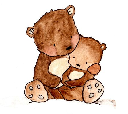 Mama and baby bear clipart picture free Free Mother Bear Cliparts, Download Free Clip Art, Free Clip Art on ... picture free