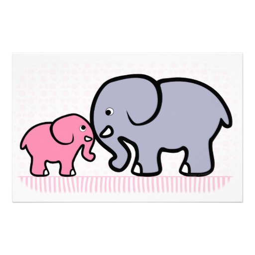Mama and baby elephant clip art clip art freeuse download Mama baby elephant clipart - ClipartFest clip art freeuse download