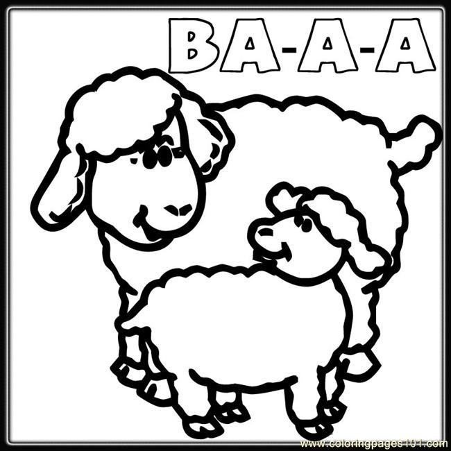 Mama and baby sheep clipart svg black and white cub with his father bear waiting for mother bear coloring page ... svg black and white