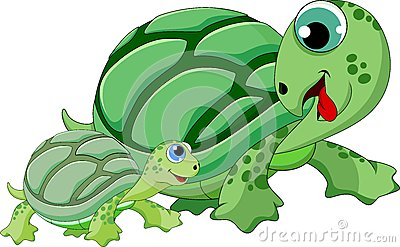 Mama and baby turtle clipart image free Turtle mama and baby clipart - ClipartFest image free