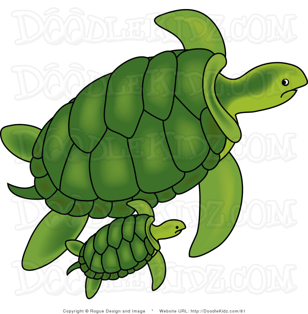 Mama and baby turtle clipart clipart royalty free download Mama and baby turtle clipart - ClipartFest clipart royalty free download