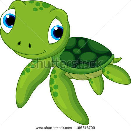 Mama and baby turtle clipart vector black and white stock Turtle Cartoon Stock Images, Royalty-Free Images & Vectors ... vector black and white stock