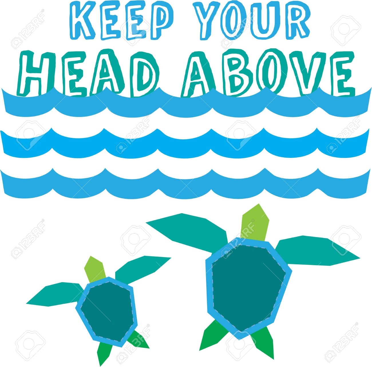 Mama and baby turtle clipart clip art transparent download Our Mommy And Baby Turtle Swim Under The Ocean's Blue Waves ... clip art transparent download
