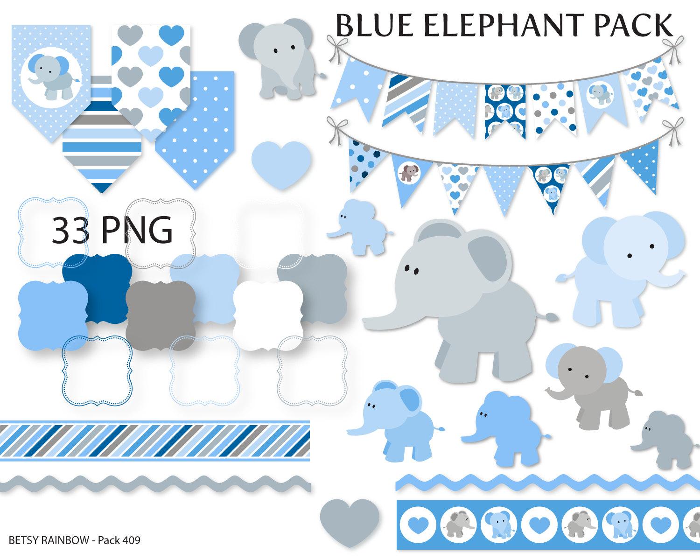Mama baby elephant clipart clip library library Elephant clip art | Etsy clip library library