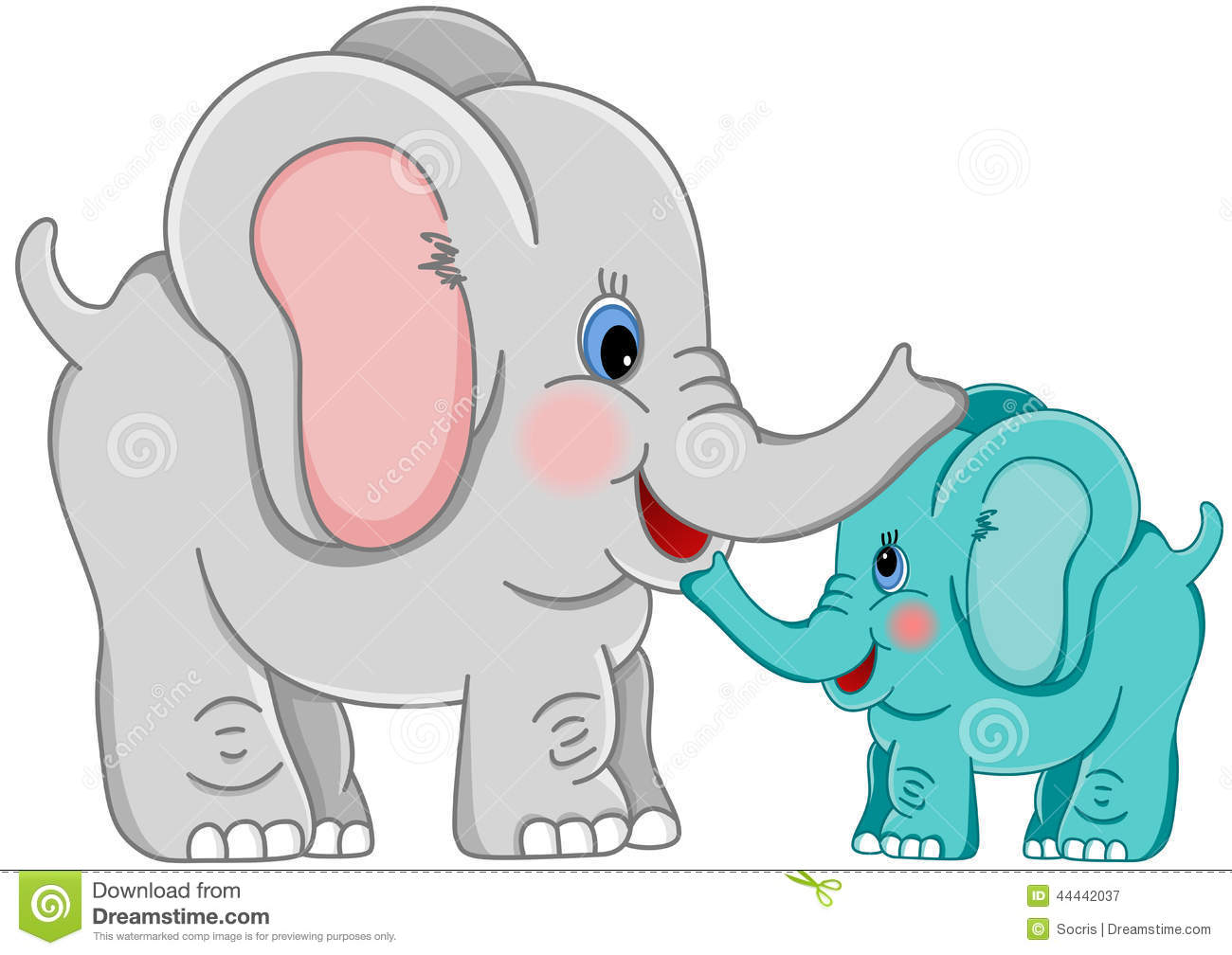 Mama baby elephant clipart clip art black and white download Mama baby elephant clipart - ClipartFest clip art black and white download