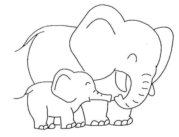 Mama baby elephant clipart image freeuse download Elephant clipart white mother baby love - ClipartFox image freeuse download