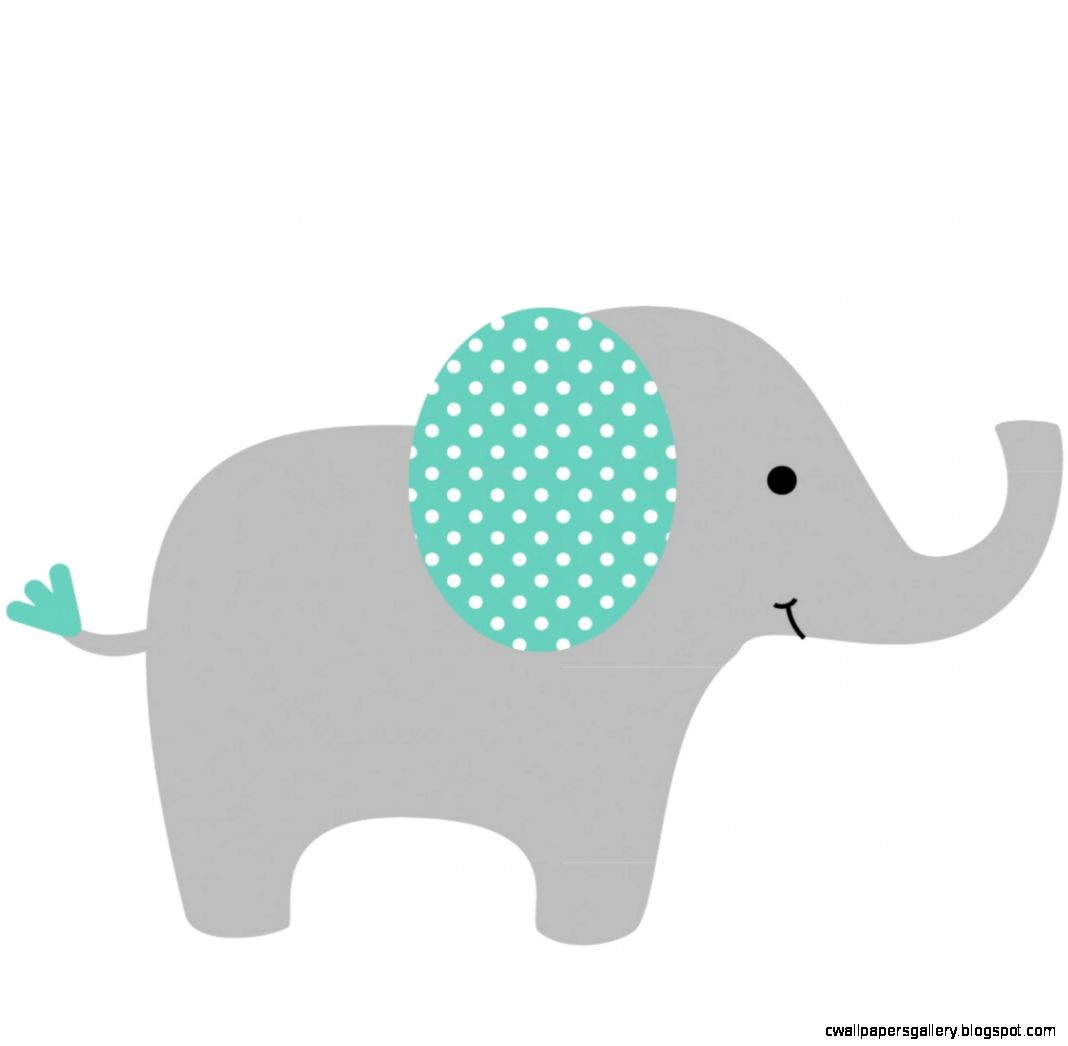 Mama baby elephant clipart picture black and white stock Modern baby elephant clipart - ClipartFest picture black and white stock