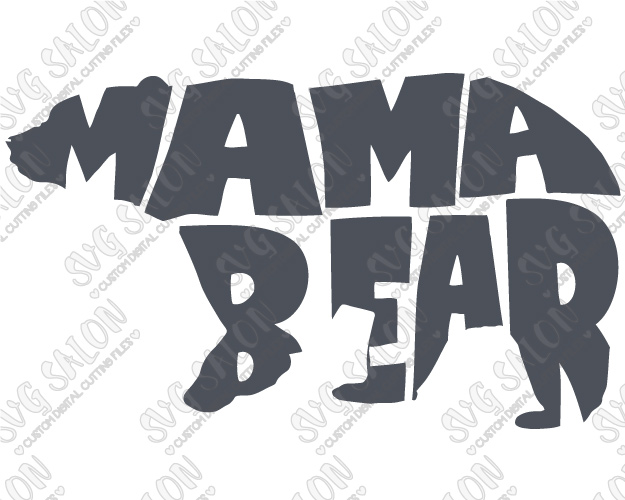 Mama bear clip art transparent Mama bear clipart - ClipartFest transparent