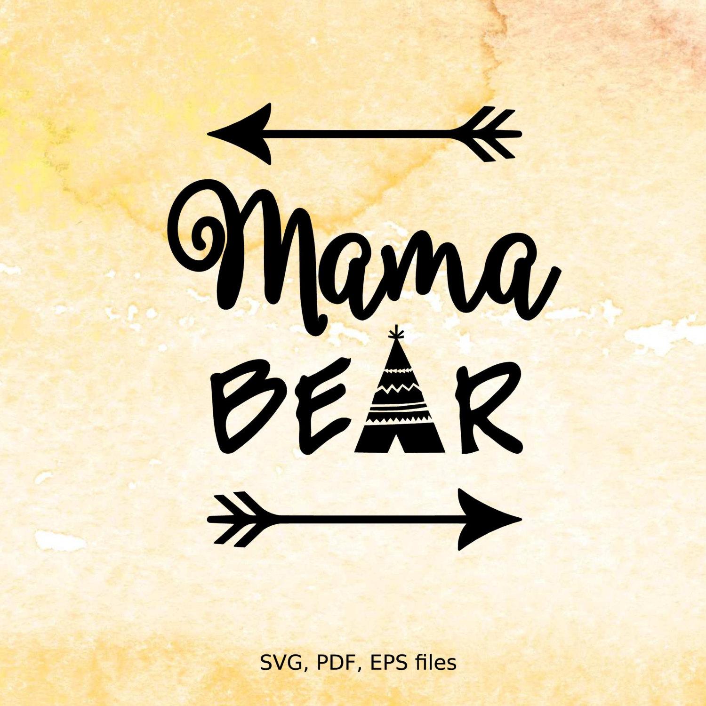 Mama bear clipart svg free download Mama bear clipart - ClipartFest svg free download