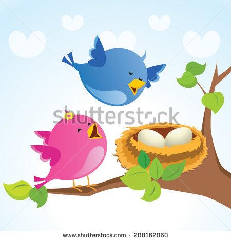 Mama bird clip art graphic freeuse download Bird Singing Stock Photos, Royalty-Free Images & Vectors ... graphic freeuse download