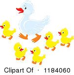 Mama duck clipart image download Royalty-Free (RF) Mother Duck Clipart, Illustrations, Vector ... image download