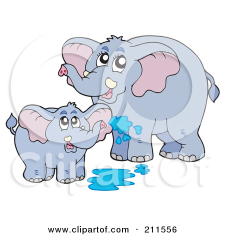 Mama elephant clipart png transparent download Royalty-Free (RF) Elephant Clipart, Illustrations, Vector Graphics #1 png transparent download