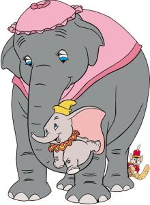 Mama elephant clipart clip stock Animated Mother's Day Clip Art | disney s dumbo the elephant with ... clip stock
