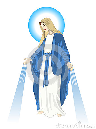 Mama mary clipart graphic transparent Blessed Virgin Mary Stock Illustrations – 167 Blessed Virgin Mary ... graphic transparent