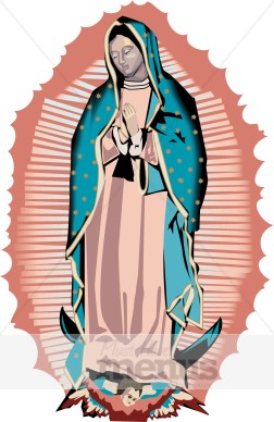 Mama mary clipart graphic black and white stock Virgin Mary Clipart | Mexican Clipart graphic black and white stock