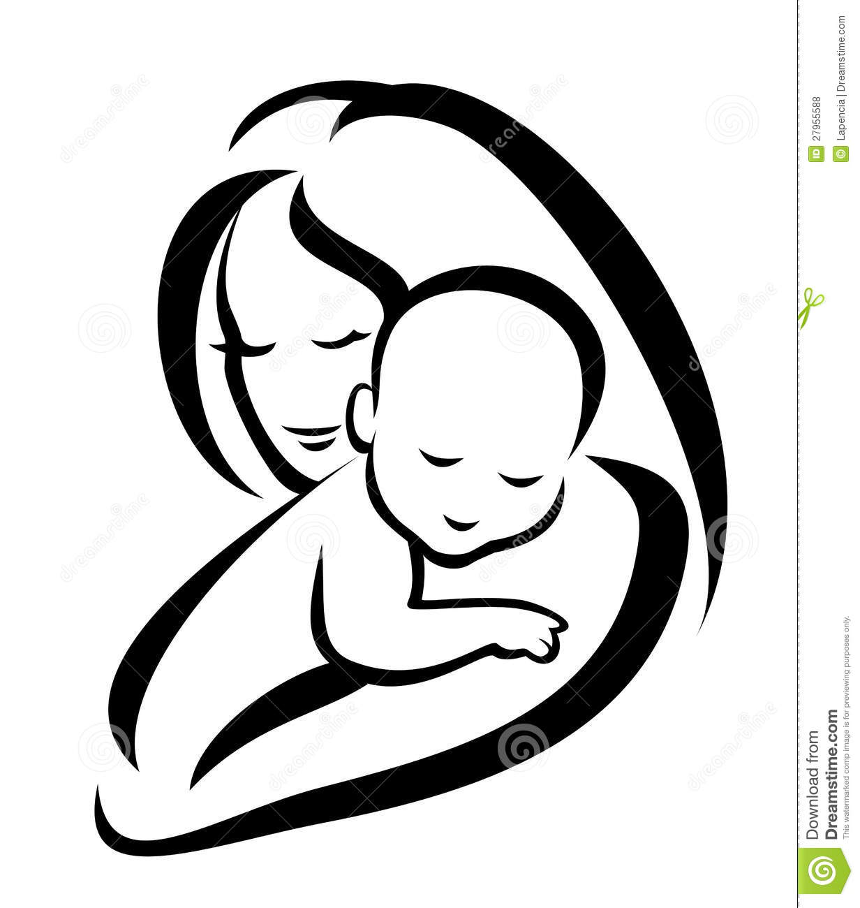 Mama mit baby clipart png black and white stock Mama mit baby clipart - ClipartFox png black and white stock