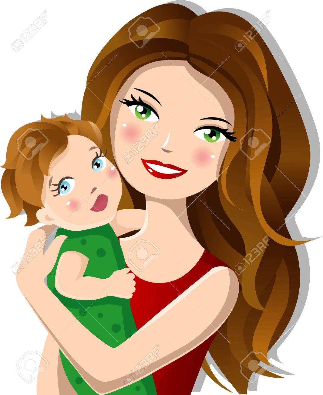 Mama mit baby clipart black and white download Mother Clip Art Images | Clipart Panda - Free Clipart Images black and white download