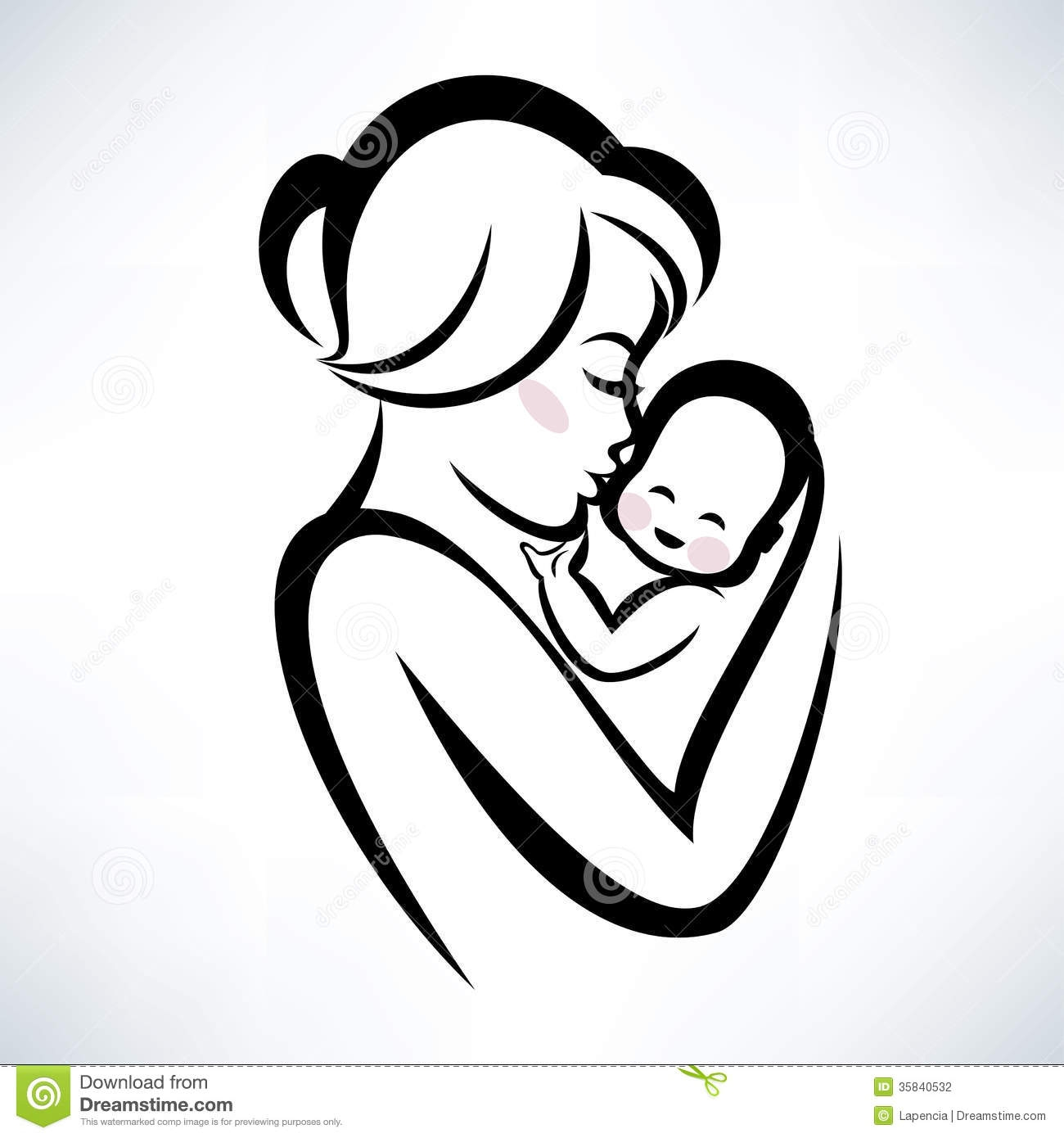 Mama mit baby clipart picture free download Mother and baby clipart - ClipartFest picture free download