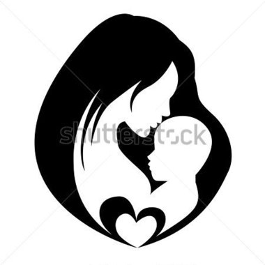 Mama und baby clipart svg royalty free library Mutter und kind clipart - ClipartFox svg royalty free library