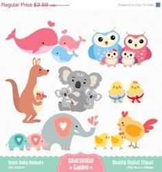 Mama und baby clipart clip art library Baby animal and mama clipart - ClipartFest clip art library