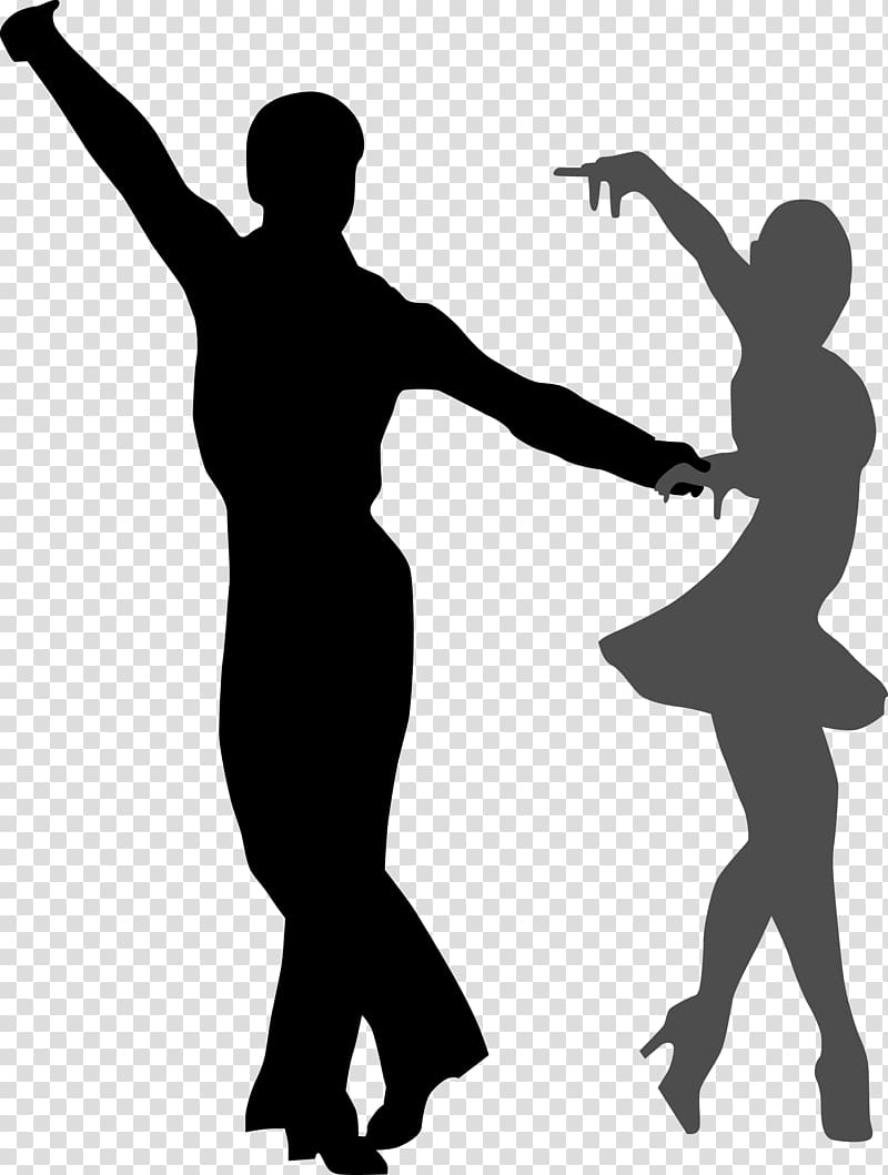 Clipart swing dance graphic free download Silhouette of man and woman dancing, Ballroom dance , Dancing ... graphic free download