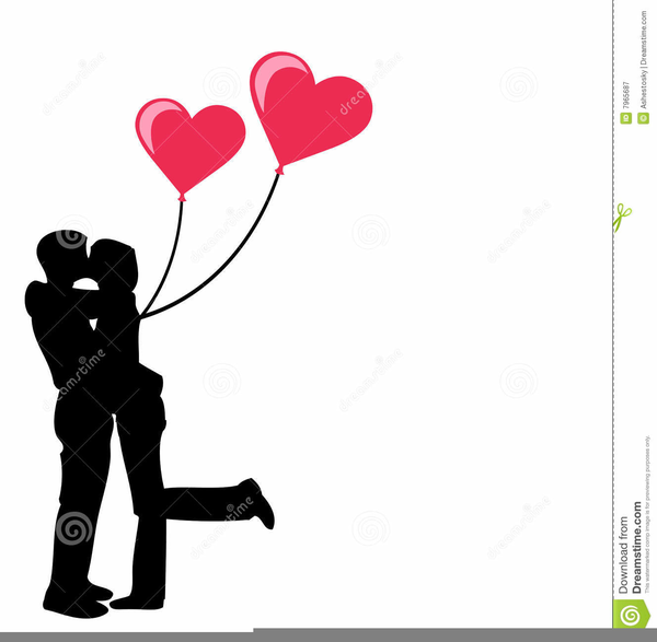 Man and woman kissing clipart banner library Man And Woman Kissing Clipart | Free Images at Clker.com - vector ... banner library