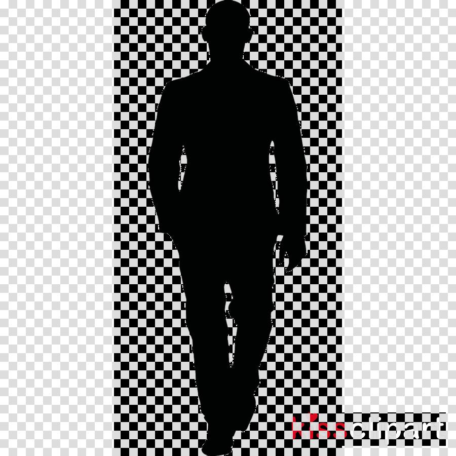 Man back clipart banner transparent Black, Man, Silhouette, transparent png image & clipart free download banner transparent