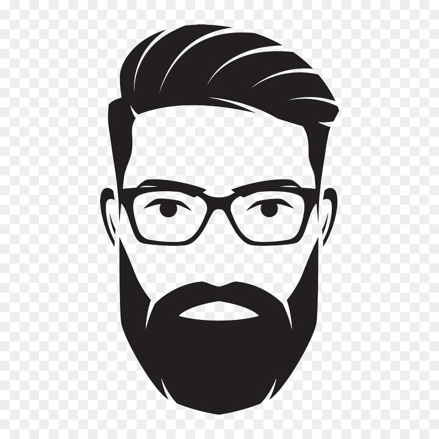 Man with a beard clipart vector transparent download Glasses Background clipart - Tshirt, Beard, Man, transparent clip art vector transparent download