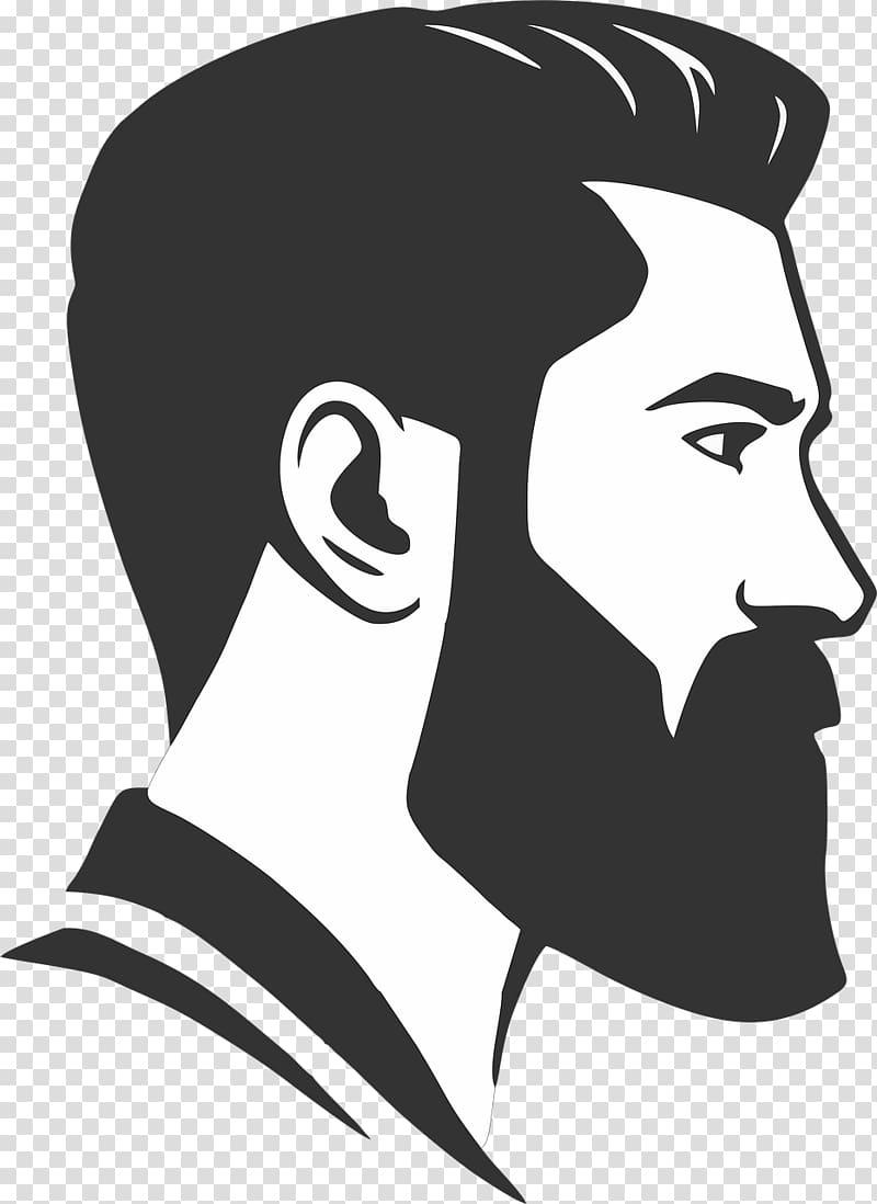 Man with a beard clipart png stock Bearded man illustration, Beard Man , barbershop transparent ... png stock