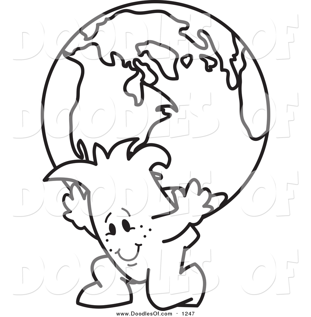Man carrying gold clipart black and white clip art freeuse download Black And White Globe Clipart | Free download best Black And White ... clip art freeuse download