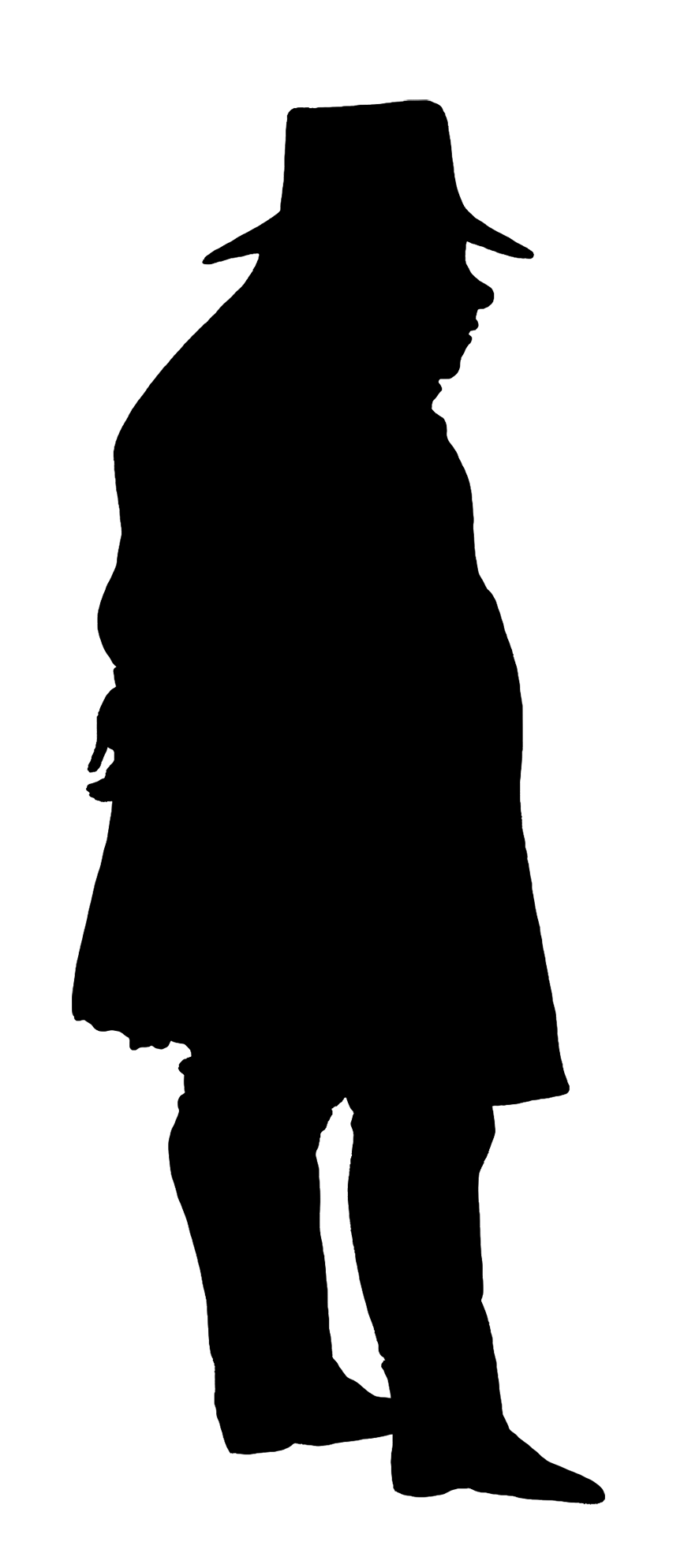 Black Man Silhouette at GetDrawings.com | Free for personal use ... picture black and white library
