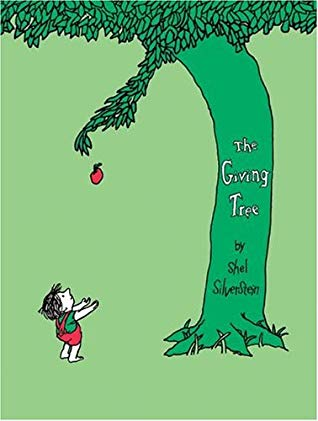 Man giving a book clipart freeuse stock The Giving Tree by Shel Silverstein freeuse stock