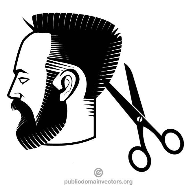 Man hairstyle clipart graphic library stock Hair Cut Clipart   Free download best Hair Cut Clipart on ClipArtMag.com graphic library stock