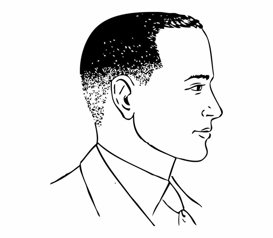 Man hairstyle clipart graphic transparent stock Haircut Clipart Guy Hair Huge Freebie - Cartoon Man Side View ... graphic transparent stock