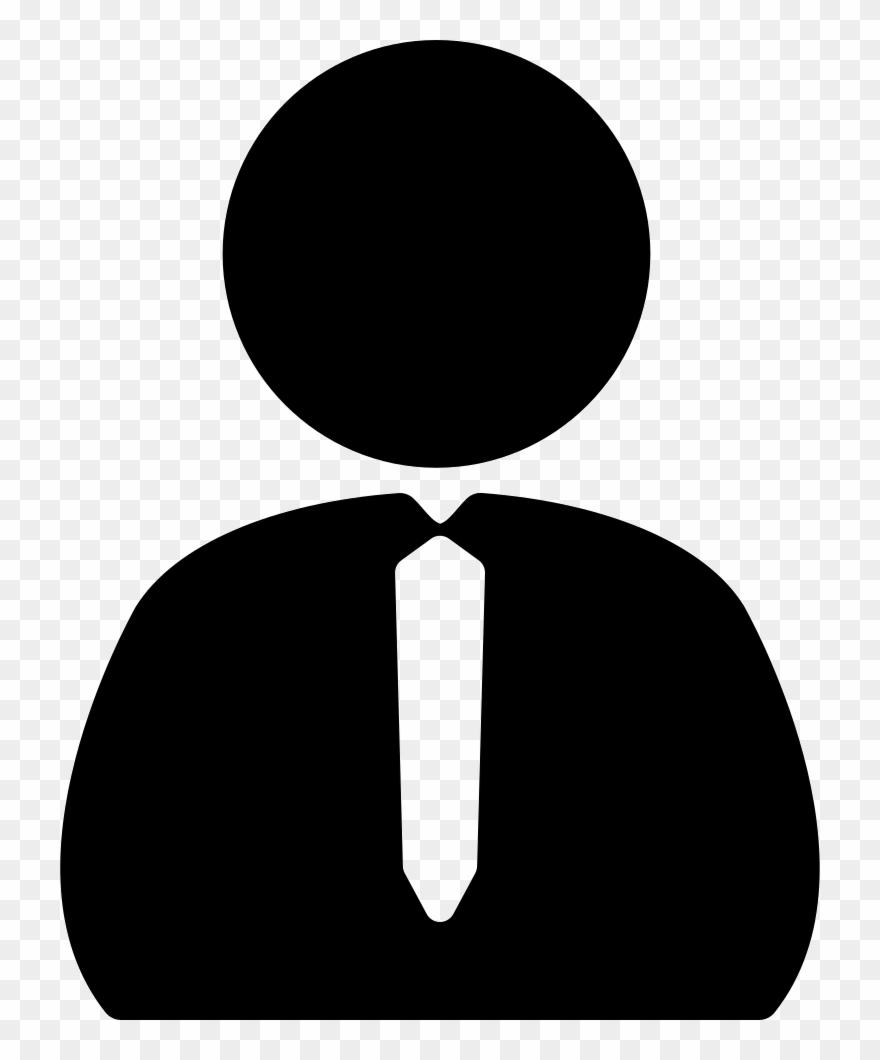 Man icon clipart picture black and white Man With Png Free - Business Person Icon Clipart (#1509676) - PinClipart picture black and white